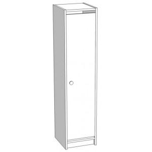 Шкаф для раздевания 1 секционный
