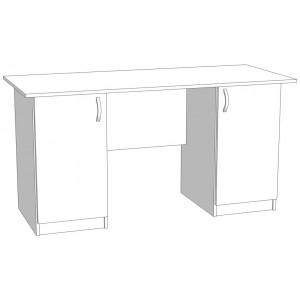 Стол офисный двухтумбовый
