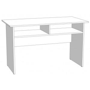Стол офисный прямой с нишей